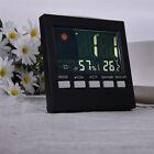 Digital Temperature Humidity Meter LCD Room Indoor Thermometer Hygrometer Clock