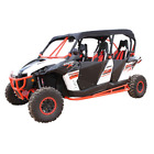 Dragonfire Racing Soft Top Roof Black 04-2101 CAN-AM Commander Max 1000 DPS etc