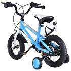 12'' Kids Bike Bicycle Children Boys & Girls With Water Bottle & Training Wheels