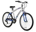 Men's Mountain Bicycle Dual Suspension Comfort Bike, 26-Inch Platform Racing