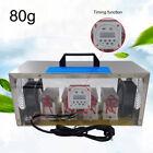 80g Long Life Type Ozone Generator Air Purifier + Timer Farm Workshop Sterilizer