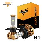 Auxbeam F-16 High & Low H4 HB2 9003 CREE LED Headlight Bulbs Kit 50W 6000K Turbo