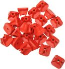 "STUD BOY SUPER-LITE PRO SERIES SINGLE BACKERS .75"" 24/PK RED"