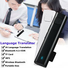 Wireless Smart Translator 26 Languages Instant Headset Earphone Bluetooth 4.1