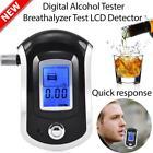 LCD Digital Police Breathalyzer Breath Alcohol Tester Analyzer Detector Gadget Z