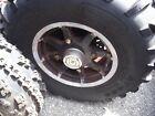 11-13 POLARIS RANGER 500 4X4 Crew Front Right Rim Wheel Tire 12x6 1520796-067