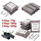 75-500g Car Charcoal Bag Air Purifier Bamboo Deodorizer Natural Freshner Odor