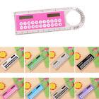1pcs Solar Mini Calculator Multifunction Ruler Office Students SuppltStationery