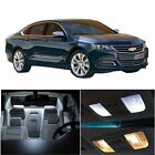 12x Xenon White LED Bulb Lights Interior Package Kit for chevy IMPALA 2000-2005