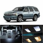 16x Ultra White LED Bulb Interior Package Lights Kit for Chevy Tahoe 2000-2006