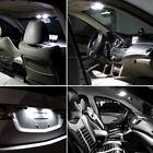 11PCS White LED Lights Interior Package T10 31mm Map Dome for Chrysler Dodge US