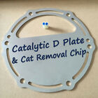 Catalytic D Plate & Cat Removal Chip Fits Yamaha 67B-1465A-00-00 Stainless Steel