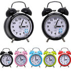 Classic Home Cute Battery Operated Bedside Desk Twin Bell Alarm Clock Innovate