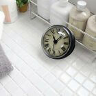 Suction Waterproof Wall Clock Shower Clock Bathroom Kitchen Accessory