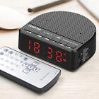 Multi-Function Wireless Bluetooth Speaker Music Player LED Alarm Clock