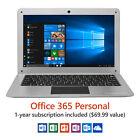 "Direkt-Tek 12.5"" Ultra Slim Laptop, Windows 10 Home, Office 365 Personal 1-Year"
