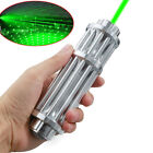 Military 532nm Laser Pointer Pen Green Lazer Zoomable Focus Torch Beam Light USA
