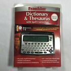 NEW Franklin MWD-460 Merriam-Webster Dictionary & Thesaurus
