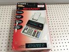 Sharp El2630piii Print Display Calculator - Clock Calendar TAX/GT/AVG Conversion