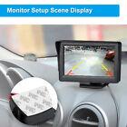 Wireless Car Rear View 4.3'' TFT Monitor Transmitter Receiver 480 x 234 Camera