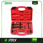 Glow Plug Removal Remover Extractor Tool Kit Damaged 8mm 10mm 16pcs