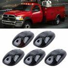 5× Smoke Cab Roof Marker Light White 6000K 12 Led For 03-18 Dodge Ram 2500 3500