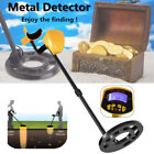 Waterproof Metal Detector Gold Digger Light Hunter Finder Deep Sensitive Search