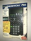 CALCULATED INDUSTRIES 4225 CONCRETECALC PRO CONCRETE CALCULATOR YARD FT INCH