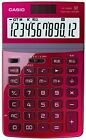 CASIO calculator JF-Z200RD-N Red 12-digit Tilt LCD Just type From Japan #1043