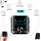 Spy MP3 Music Bluetooth Player Voice Activated Digital Recorder FM Radio 8GB