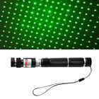 35D5 High Power 5mW Green Laser Pointer Pen 303 Adjustable Focus Burning Beam Li