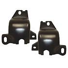 LH/RH leaf spring front mount bracket pair fits 1967-1969 models