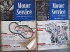 Original 1959 Motor Service Shop Magazines - Set of Two