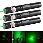 3pcs 10Miles 532nm 2in1 Powerful Green Laser Pointer Lazer Pen Adjustable Focus