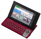 Casio Electronic Dictionary EX-word RISE XDR-A20RD Red Learn Japanese F/S