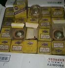 """glass fuel bowl  lot of 40  2 3/8"""" tall 2 1/8"""" ID 30's to 50's fuel pump bowl"""