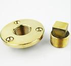 Brass Garboard Drain Plug with O-Ring Boat / Marine 1/2''-1pcs
