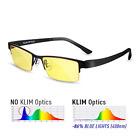 ⭐ KLIM Optics Blue Light Blocking Glasses - High protection for screen - Blue PC
