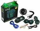 Absolute KIT-8GR 1200 Watts 8 Gauge Complete Amplifier Installation Kit (Gree...