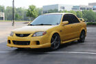 2003 Mazda Protege MazdaSpeed Mazdaspeed protege 2003.5 Mica Yellow 5 Speed Manual Rare Limited Production