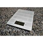 Digital Kitchen White Scale Glass White Subway Tile Design Touch Control Buttons