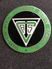 1910's-20's Transcontinental Automobile Service Co. Cloisonné Emblem Badge NOS
