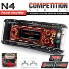 NAKAMICHI N4 640W 4 Channel Bridgeable 2CH 3CH Class AB Car Power Amp Amplifier
