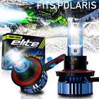 LED Kit Xenon Headlight Kit Hi/Lo Beam Bulb for Polaris Classic Dragon IQ RMK