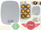 Digital Food Weighing Scale Digital Weight Grams & Ounces for Kitchen Use White