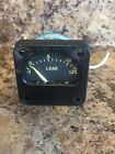 Vintage Aircraft Guage Ammeter Electric Load