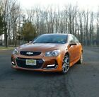 2017 Chevrolet SS  Very Rare Combination: Orange and 6 speed manual