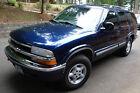 1998 Chevrolet Blazer  1998 Chevy Blazer Blue Automatic 6 cylinder 4 WD