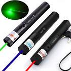 3PCS 50Miles 301 Green+Blue+Red Laser Pointer Lazer Pen Visible Beam Light New
