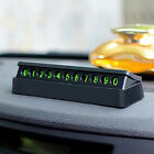 Car Temporary Stop Luminous Phone Number Press Hidden Parking Card Plate Comely